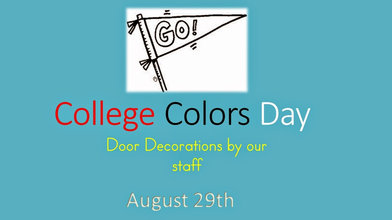 College Colors Day – For High School Counselors